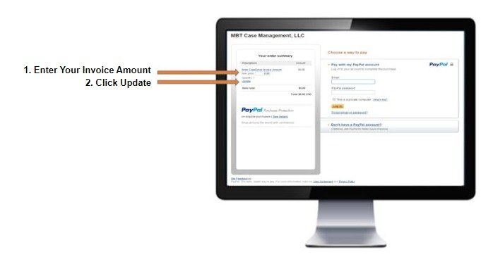 PayPal payment system